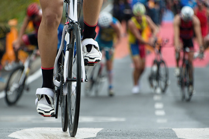 Triathlon bike the transition zone